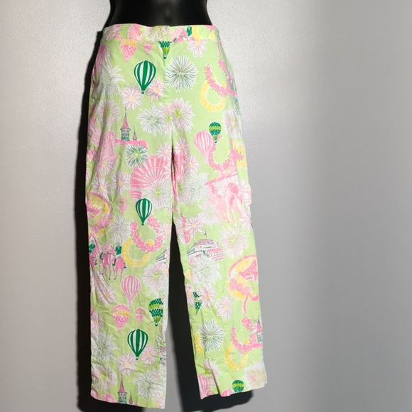 Lilly Pulitzer Fair Themed Capris